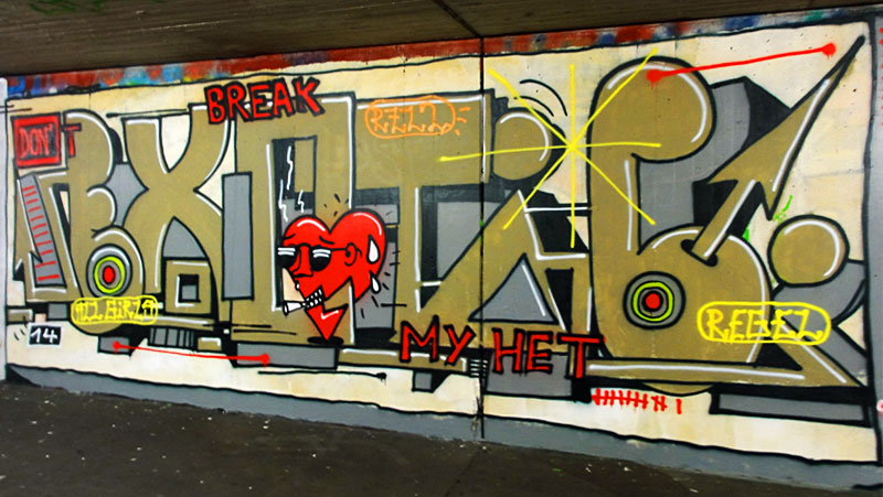 HALL OF FAME RATSWEG GRAFFITI IN FRANKFURT SEPTEMBER 2014 FOTO 12