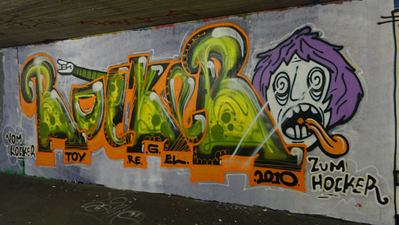 HALL OF FAME RATSWEG GRAFFITI IN FRANKFURT SEPTEMBER 2014 FOTO 16
