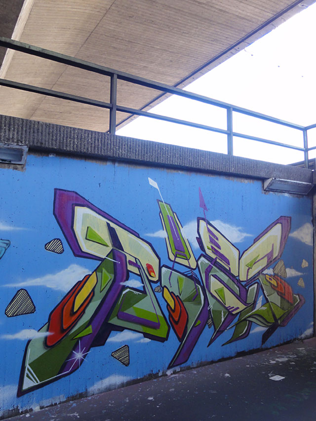 HALL OF FAME RATSWEG GRAFFITI IN FRANKFURT SEPTEMBER 2014 FOTO 17