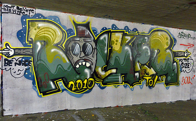 HALL OF FAME RATSWEG GRAFFITI IN FRANKFURT SEPTEMBER 2014 FOTO 18