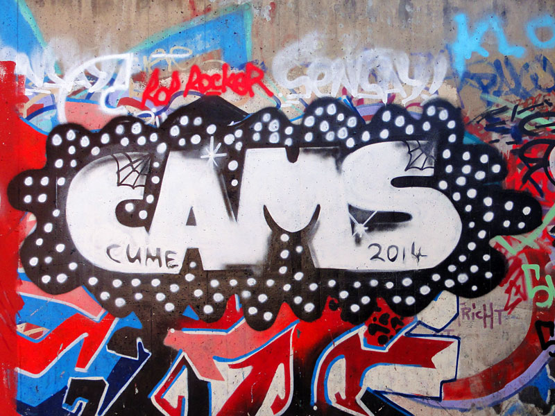 HALL OF FAME RATSWEG GRAFFITI IN FRANKFURT SEPTEMBER 2014 FOTO 23
