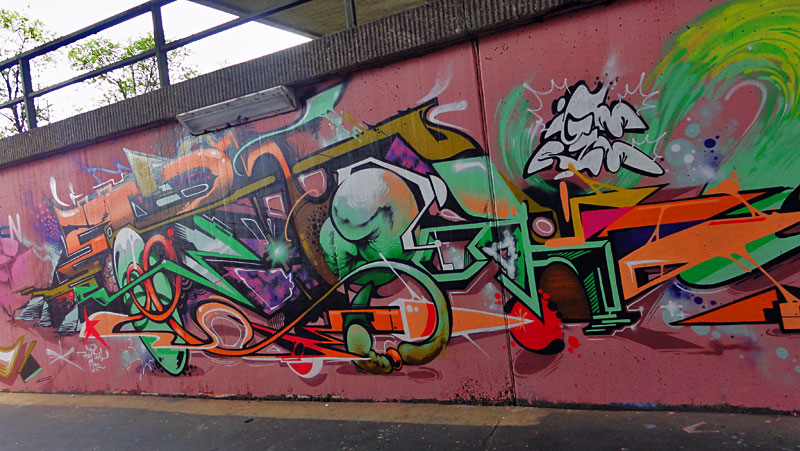 HALL OF FAME RATSWEG GRAFFITI IN FRANKFURT SEPTEMBER 2014 FOTO 26