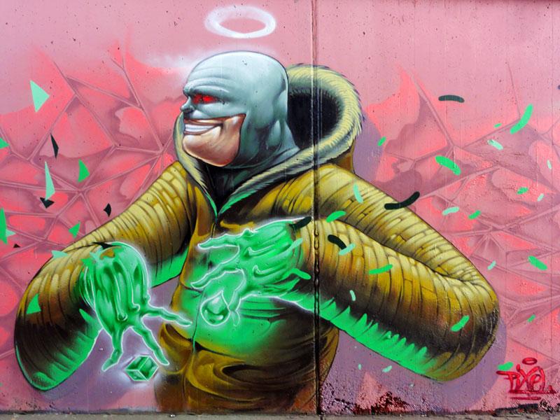 HALL OF FAME RATSWEG GRAFFITI IN FRANKFURT SEPTEMBER 2014 FOTO 3