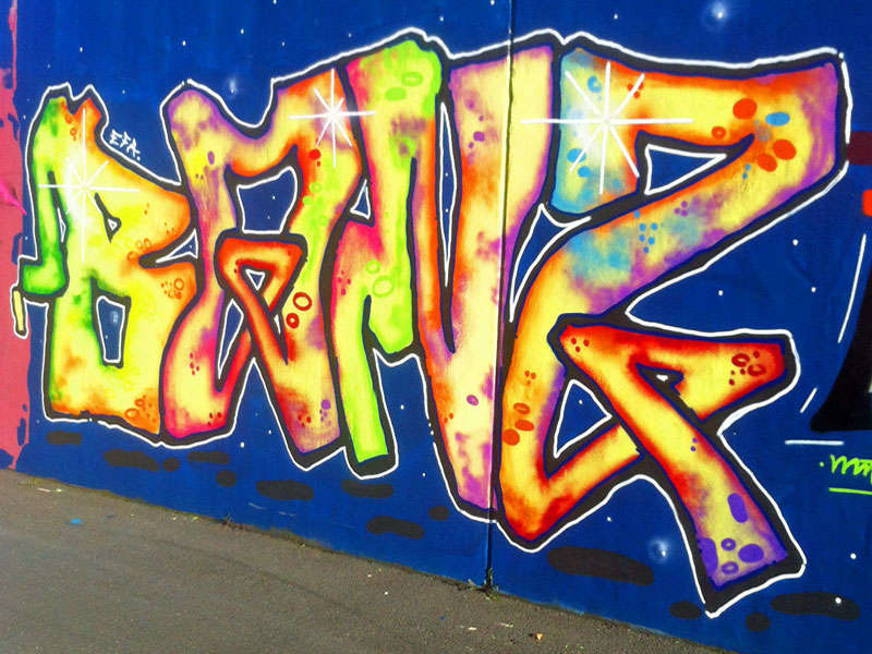 HALL OF FAME RATSWEG GRAFFITI IN FRANKFURT SEPTEMBER 2014 FOTO 32
