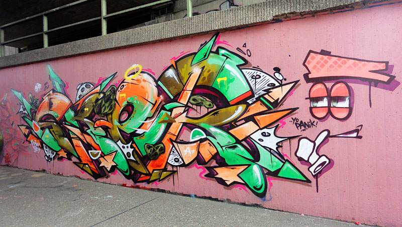 HALL OF FAME RATSWEG GRAFFITI IN FRANKFURT SEPTEMBER 2014 FOTO 46
