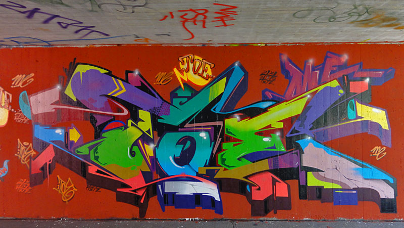 HALL OF FAME RATSWEG GRAFFITI IN FRANKFURT SEPTEMBER 2014 FOTO 9