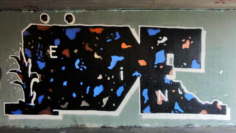 GRAFFITI IN FRANKFURT – HALL OF FAME RATSWEGKREISEL