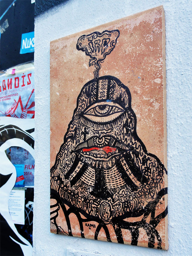 Street Art in Frankfurt: IRO