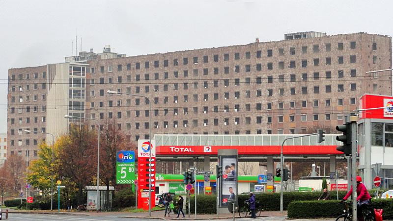Fotos von der ehemaligen Oberfinanzdirektion in Frankfurt