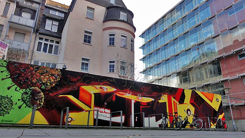 Frankfurt University of Applied Sciences-Graffiti