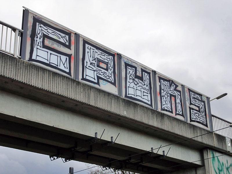Streetart & Graffiti in Frankfurt am Main - CPUKS