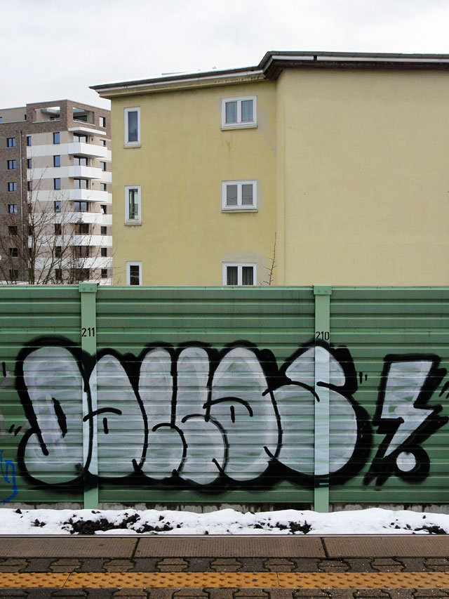Streetart & Graffiti in Frankfurt am Main - DALLAS