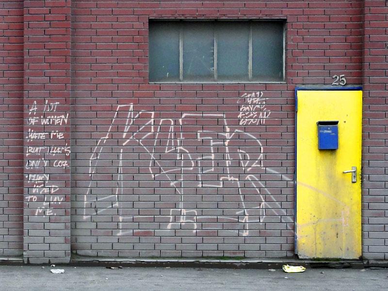 Streetart & Graffiti in Frankfurt am Main - KLER