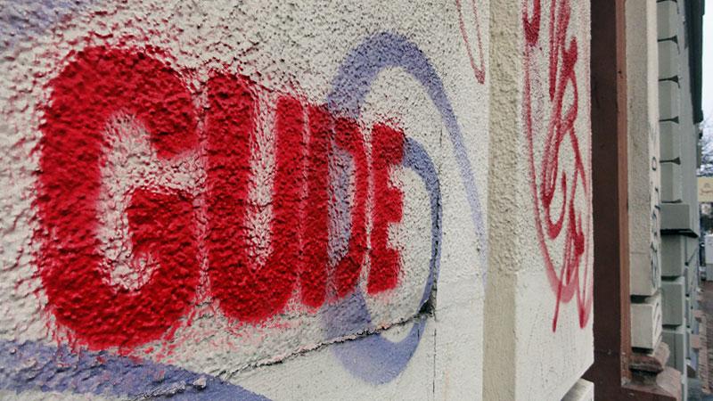 Streetart & Graffiti in Frankfurt am Main - Gude