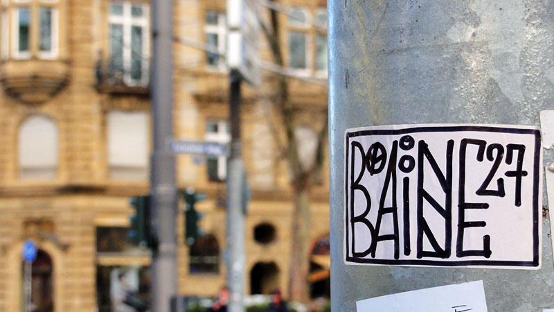 Streetart & Graffiti in Frankfurt am Main - BAINE 27