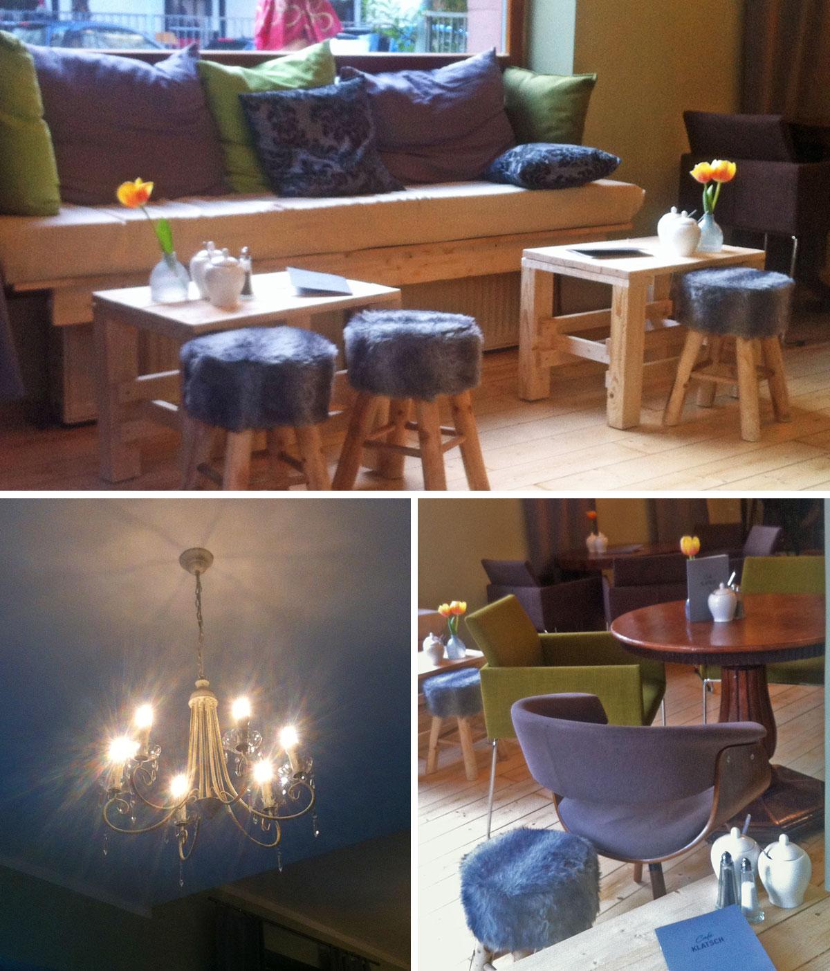 CAFÉ KLATSCH IN DER MAINKURSTRASSE IN FRANKFURT-BORNHEIM