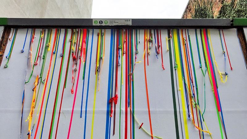 Tape Art in Frankfurt