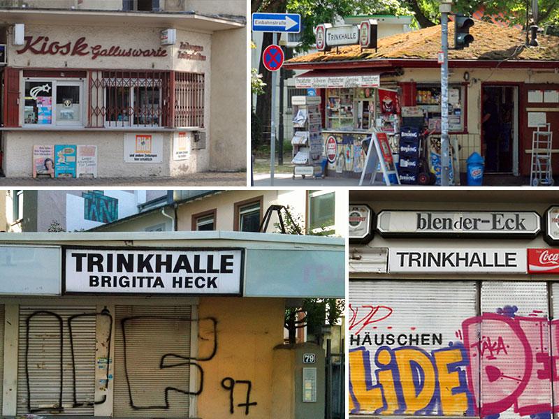 Trinkhallen in Frankfurt am Main