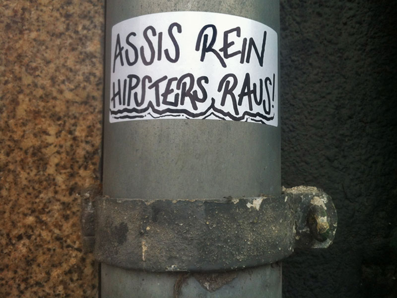 Assis rein, Hipsters raus