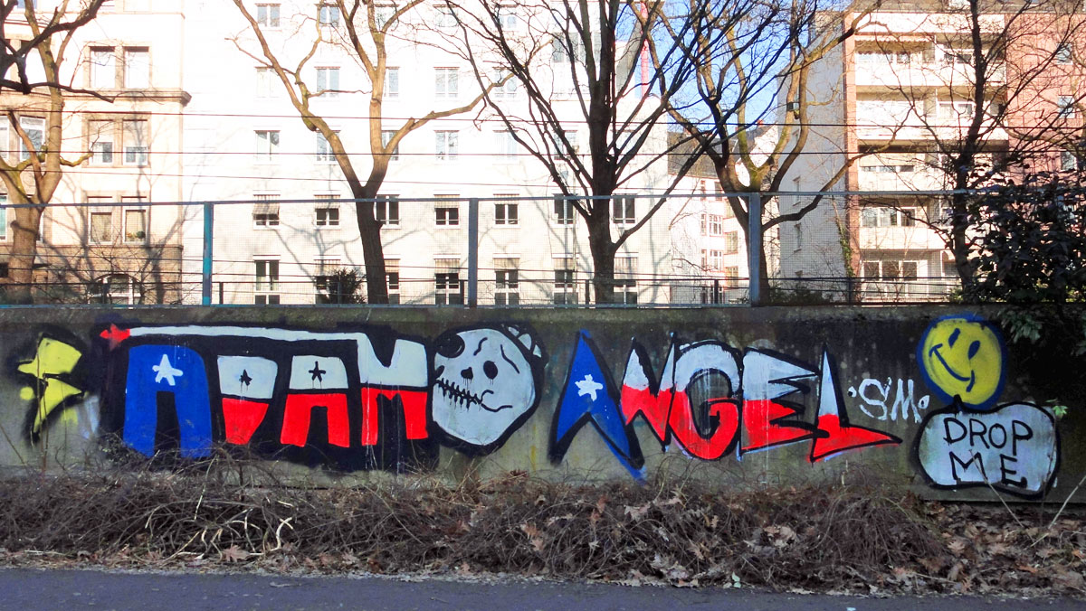 Street Art & Graffiti in Frankfurt am Main (02/2015)