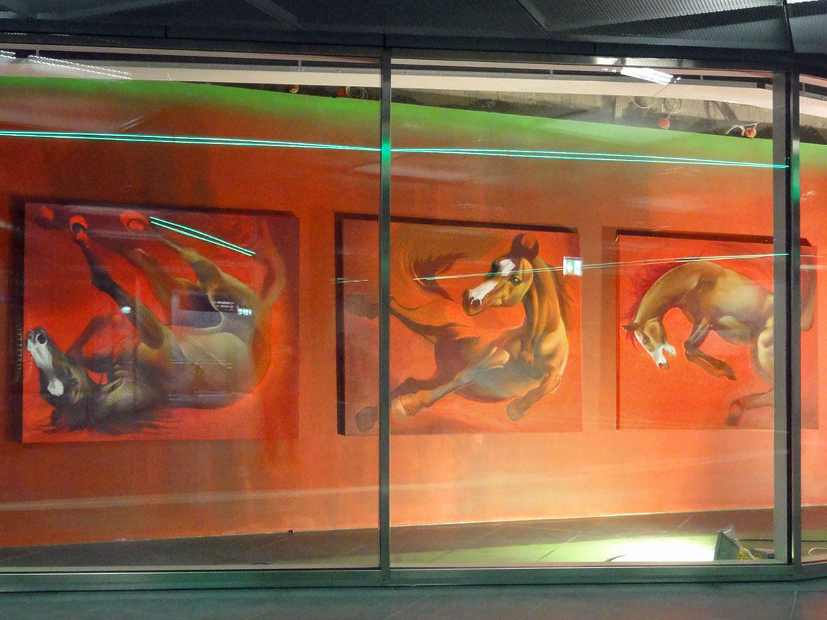 Case Ma'Claim Artsworks in Frankfurt (Taunusanlage)