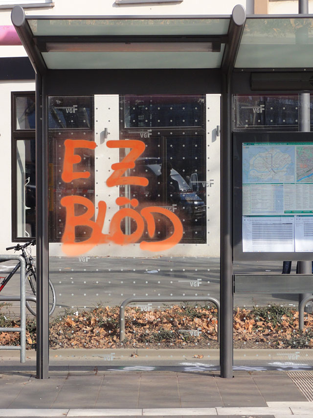 FRANKFURT BLOCKUPY 2015 - EZ BLÖD