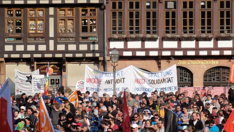 FRANKFURT BLOCKUPY 2015 - KUNDGEBUNG
