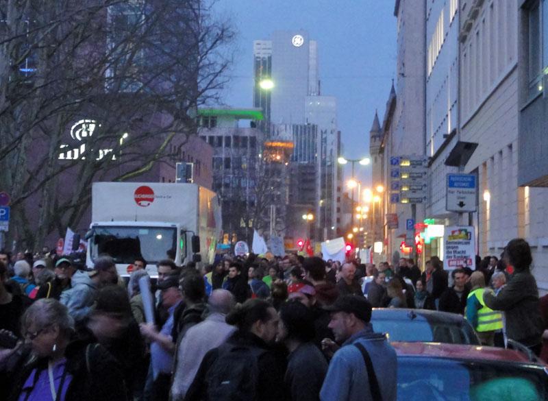 FRANKFURT BLOCKUPY 2015 - DEMONSTRATION 2