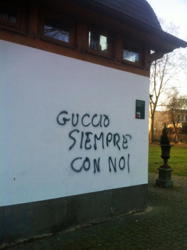 FRANKFURT BLOCKUPY 2015 - GUCCIO SIEMPRE CON NOI