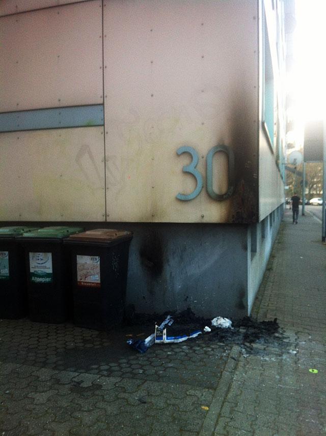 FRANKFURT BLOCKUPY 2015 - HAUSNUMMER 30