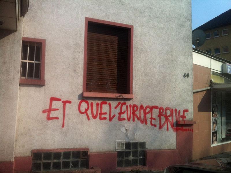 FRANKFURT BLOCKUPY 2015 - ET QUE L'EUROPE BRULE