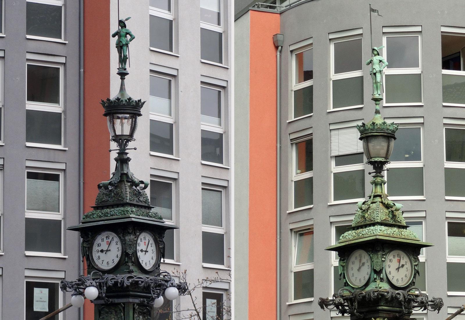Uhrtürmchen im Ostend