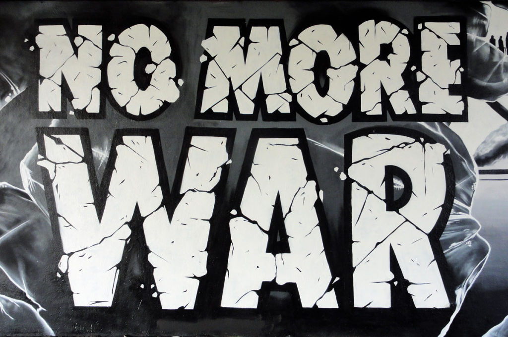No more war-Graffiti