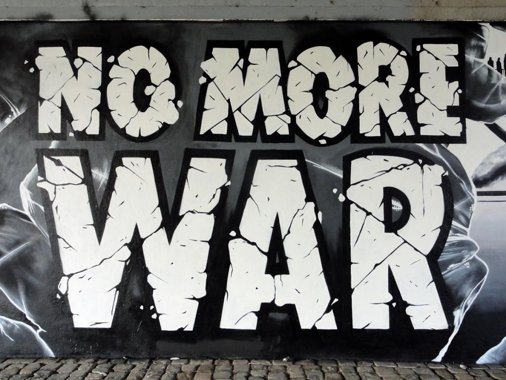 No more war-Graffiti
