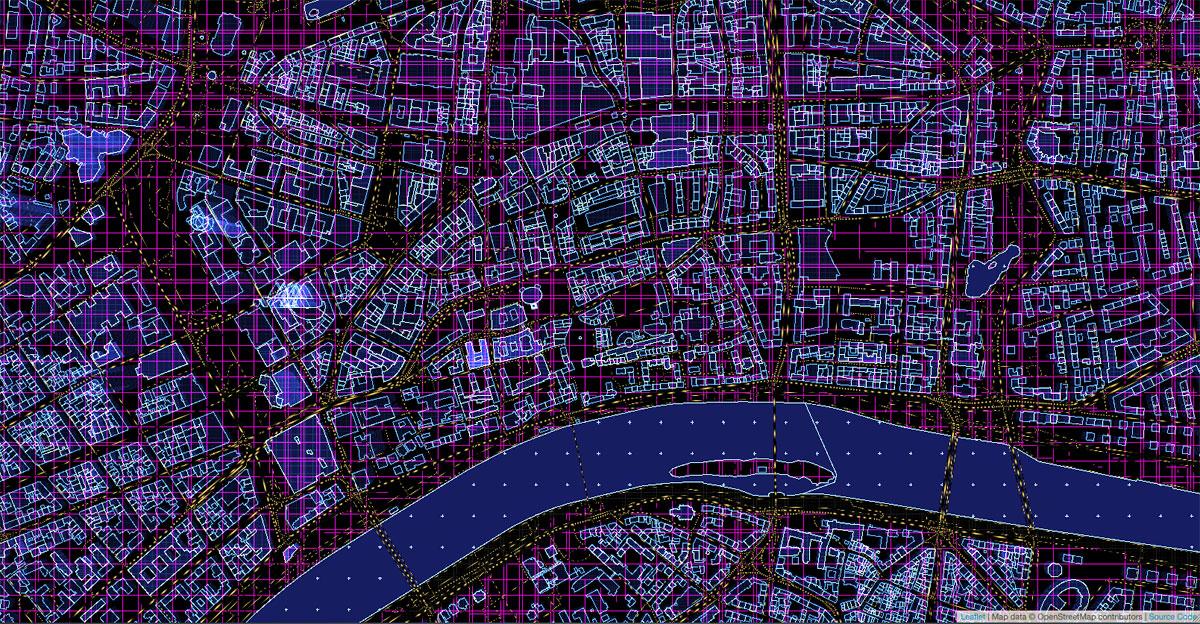 Frankfurt am Main - Vector Map