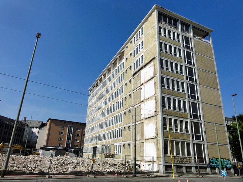 Baustellen in Frankfurt - Ehemaliger Bundesrechnungshof
