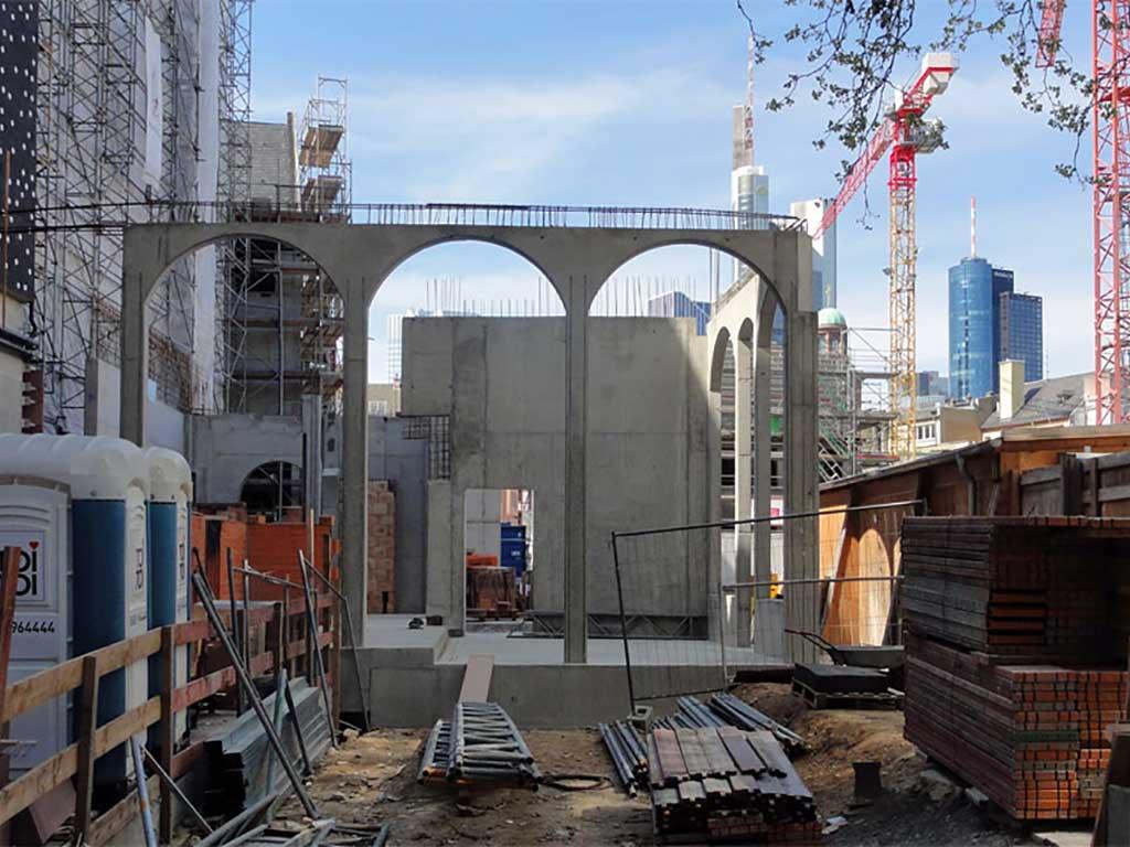 Frankfurts neue Mitte - Aufbau der neuen Altstadt
