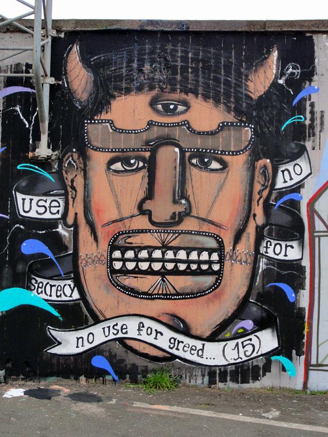 GRAFFITI IN FRANKFURT – HALL OF FAME RATSWEGKREISEL – APRIL 2015