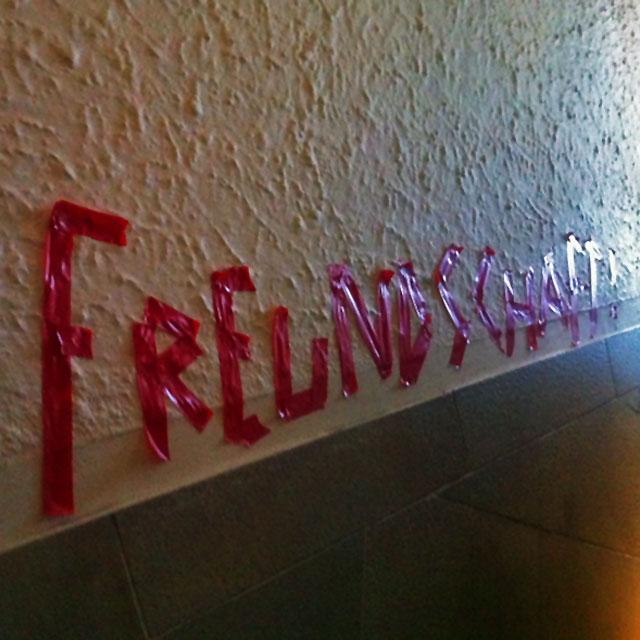 FREUNDSCHAFTSPREIS - PRIVATER FLOHMARKT - FRANKFURT AM MAIN