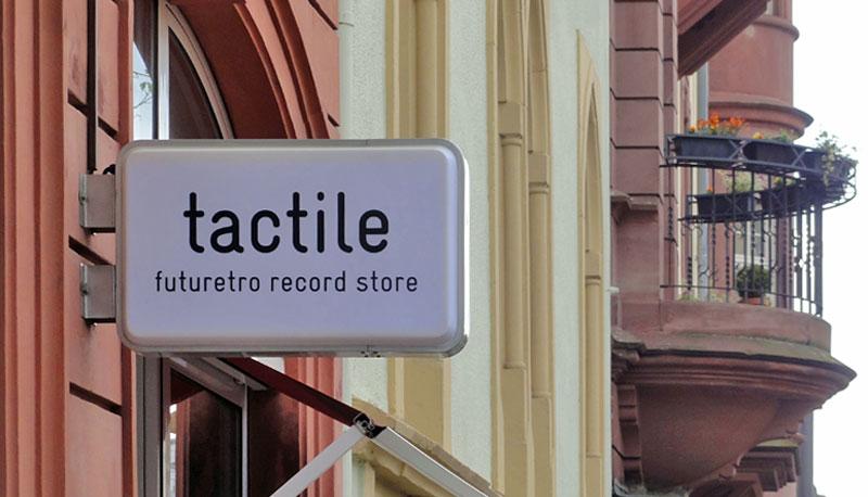 Tactile Plattenladen Frankfurt Nordend