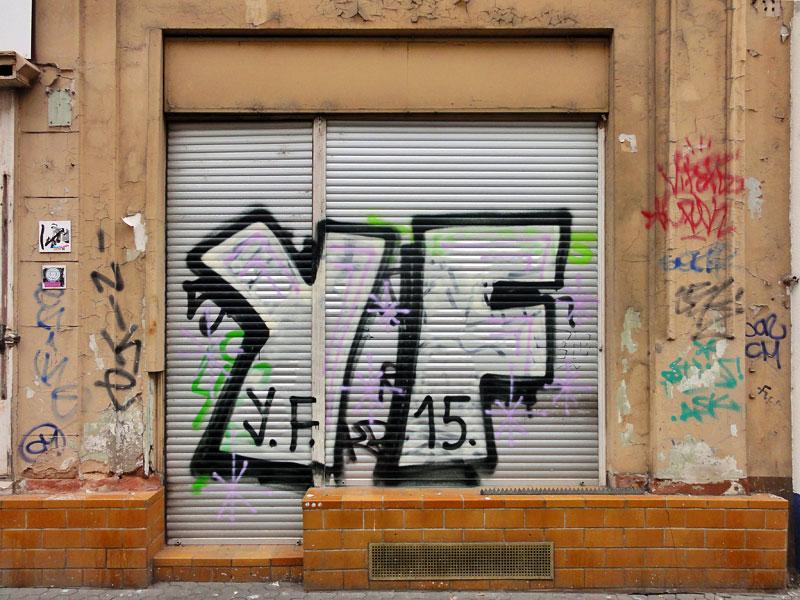 Street Art & Graffiti in Frankfurt am Main - 03/2015