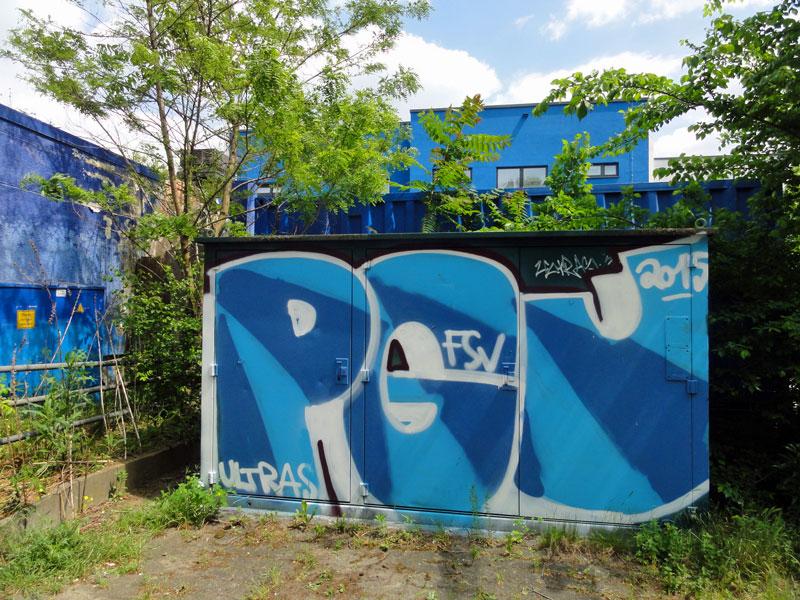 Streetart & Graffiti rund um den FSV Frankfurt