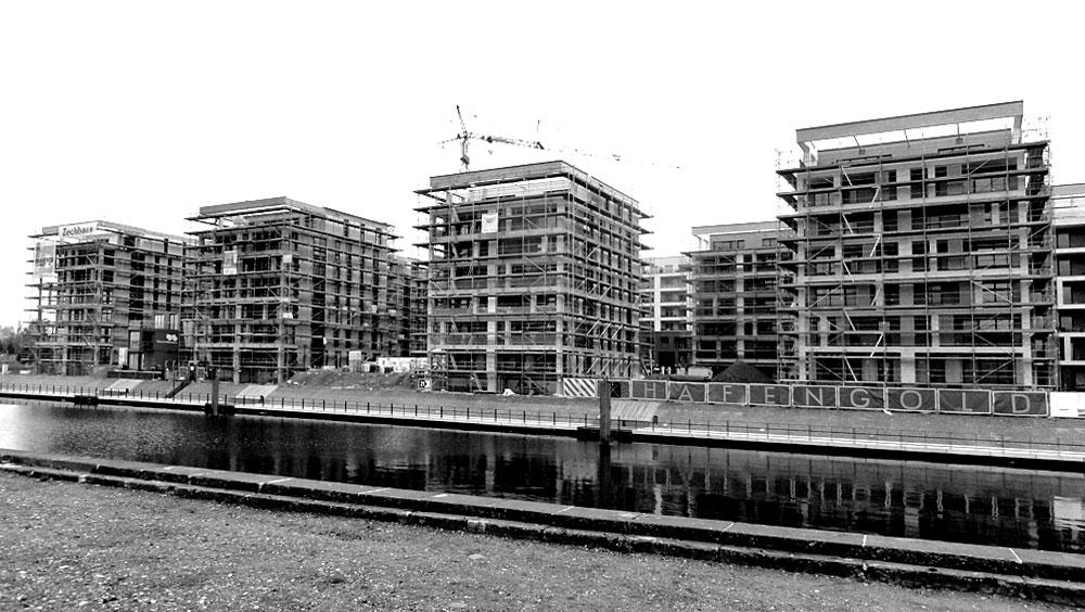 Offenbach Hafen Baustelle 2015