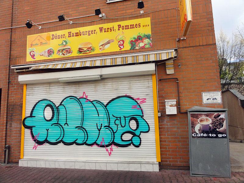 RUMO - Street Art & Graffiti in Frankfurt am Main - 04/2015