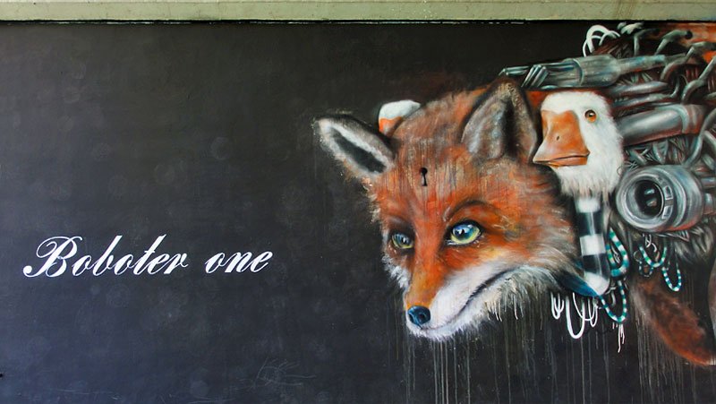 BOBOTER ONE - Street Art & Graffiti in Frankfurt am Main - 04/2015