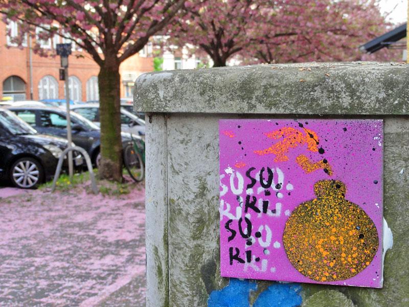 SO.RI.SO.RI - Street Art & Graffiti in Frankfurt am Main - 04/2015