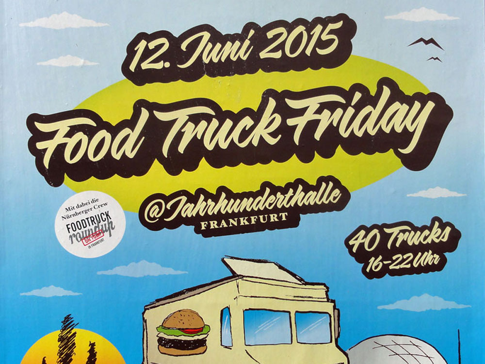 Food Truck Friday in Frankfurt
