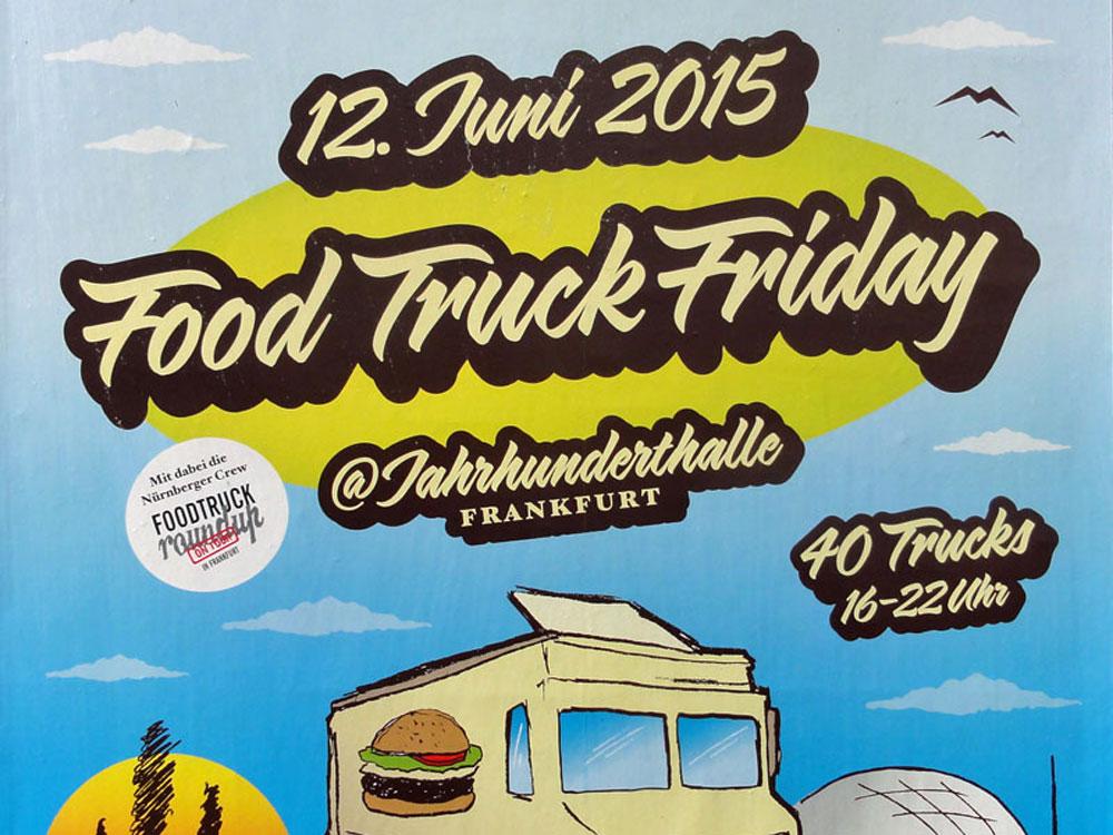 Food Truck Friday in Frankfurt