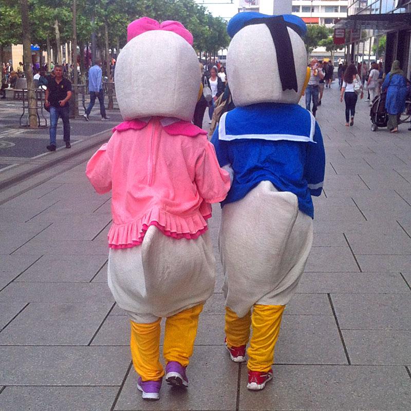Daisy-und-Donald-Frankfurt-Zeil