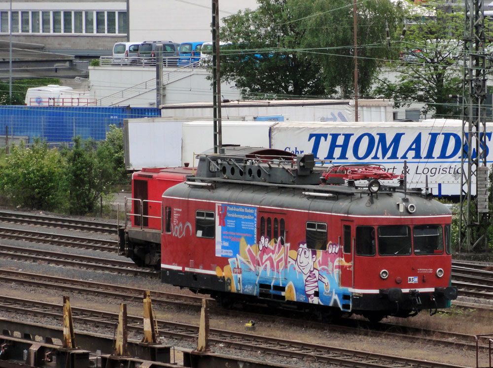 Train-Graffiti in Frankfurt